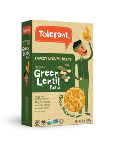 Energy Blend Green Lentil Pasta Elbow 8 oz