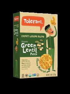 Energy Blend Green Lentil Pasta Elbow 8 oz