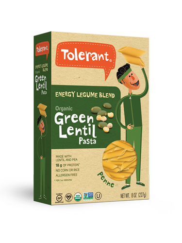 Energy Blend Green Lentil Pasta Penne 8 oz