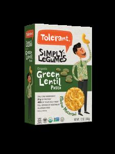 Simply Legumes Green Lentil Pasta Elbow 12 oz