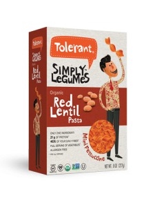 Simply Legumes Red Lentil Mini Fettuccine 8 oz