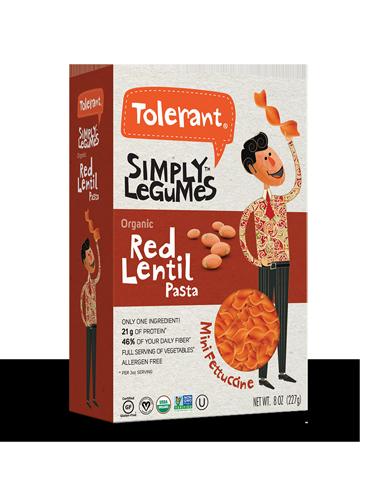 Simply Legumes Red Lentil Mini Fettuccine 8 oz