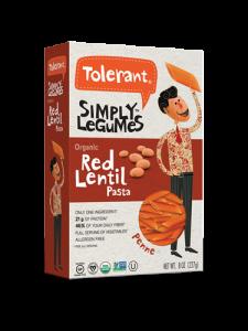 Simply Legumes Red Lentil Pasta Penne 8 oz