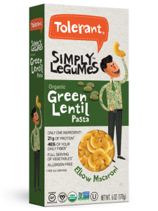 Simply Legumes Green Lentil Elbows 6 oz