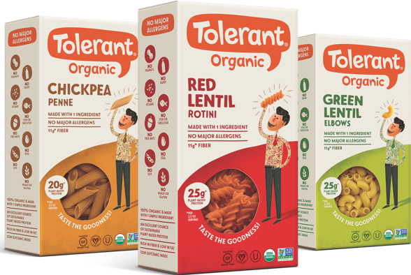 Tolerant Products line up