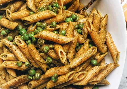 easy-pesto-penne-with-peas-feature