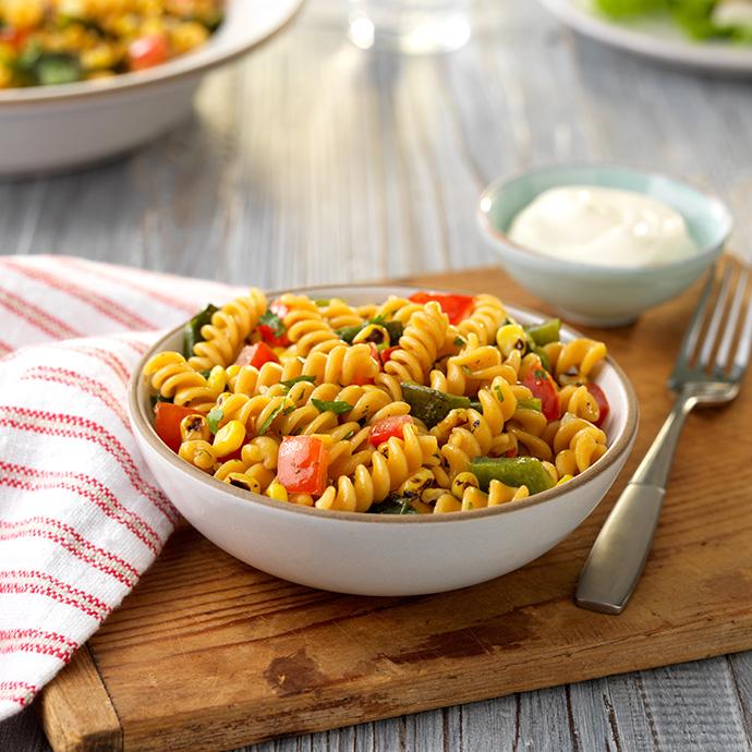 rotini-roasted-corn-poblano-pepper-pasta-feature